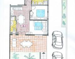 Ap.1 bungalo -plan