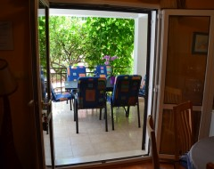 Ap.2 comfort wiev on terrace from dinning room