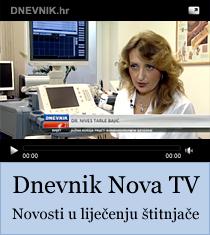 Dnevnik Nova TV - Novosti u liječenju štitnjače