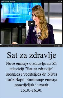 Sat za zdravlje - Emisija o zdravlju na Z1 televiziji